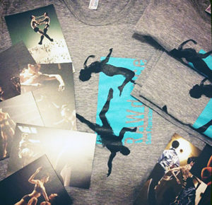 RAWdance shirts and cards