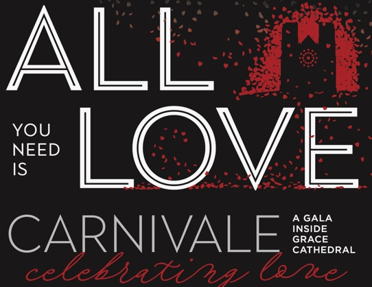 all you need is love_Grace Cathedral Carnivale Gala