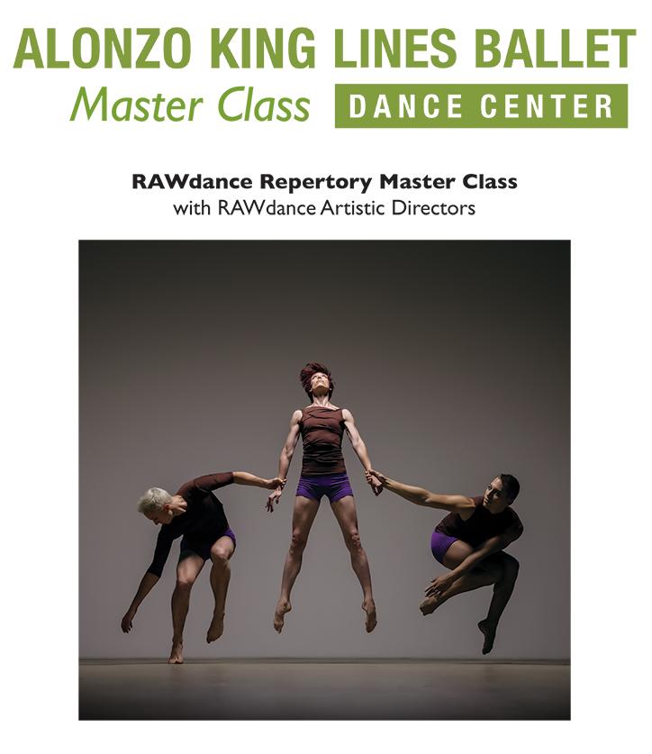 RAWdanceMasterClassJuly2019 event